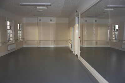 Main Studio from entrance.