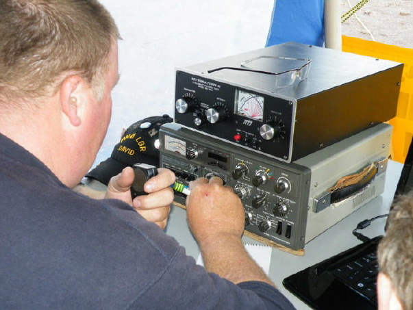 The Wigtownshire Amateur Radio Club attends events throughout the region