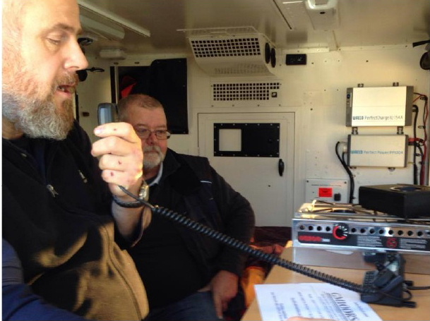 Members of the Wigtownshire Amateur Radio Club