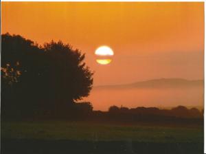Sunset over Crocketford