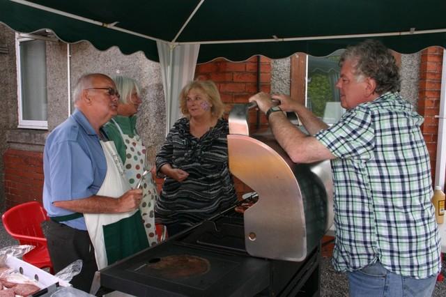 Diamond Jubilee celebrations in Crocketford 2012