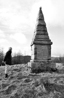 The Martyrs Monument, Craigadam Woodland, Crocketford