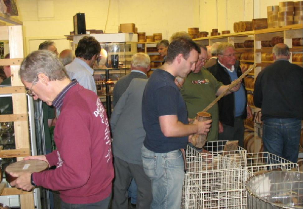 Customers at Just Wood Woodturning Supplies Ayr