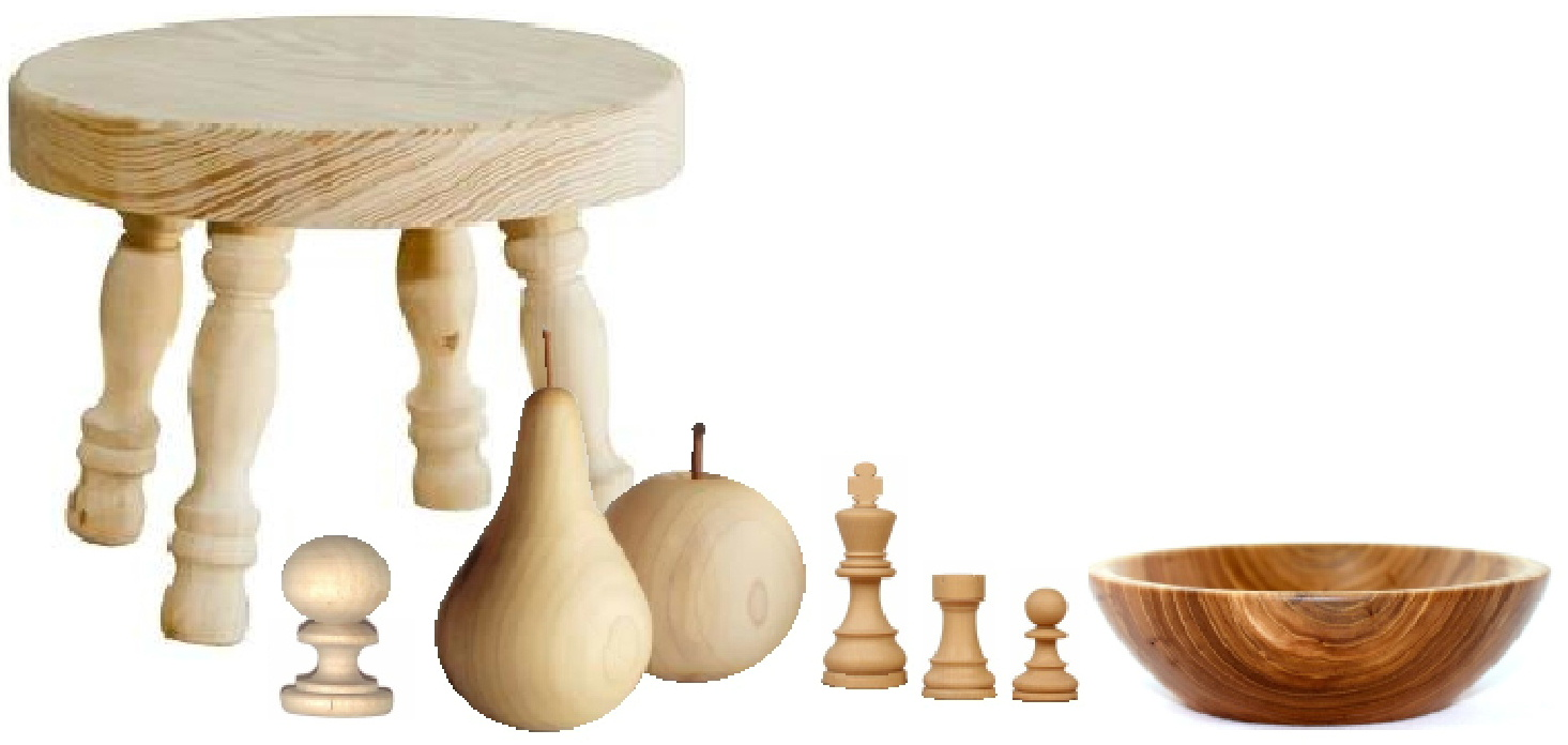 Woodturning products from Just Wood Ayr