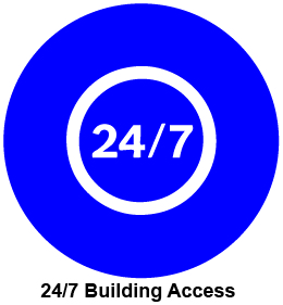 24/7 building access