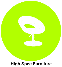 High spec furniture