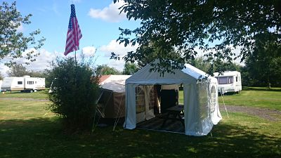 Glamping Tent at Greenwoods Campsite