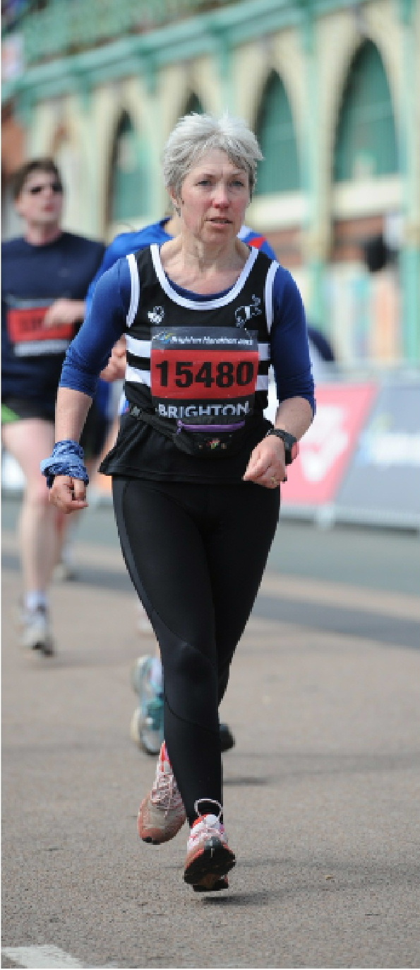 Galloway Harriers at the Brighton Marathon