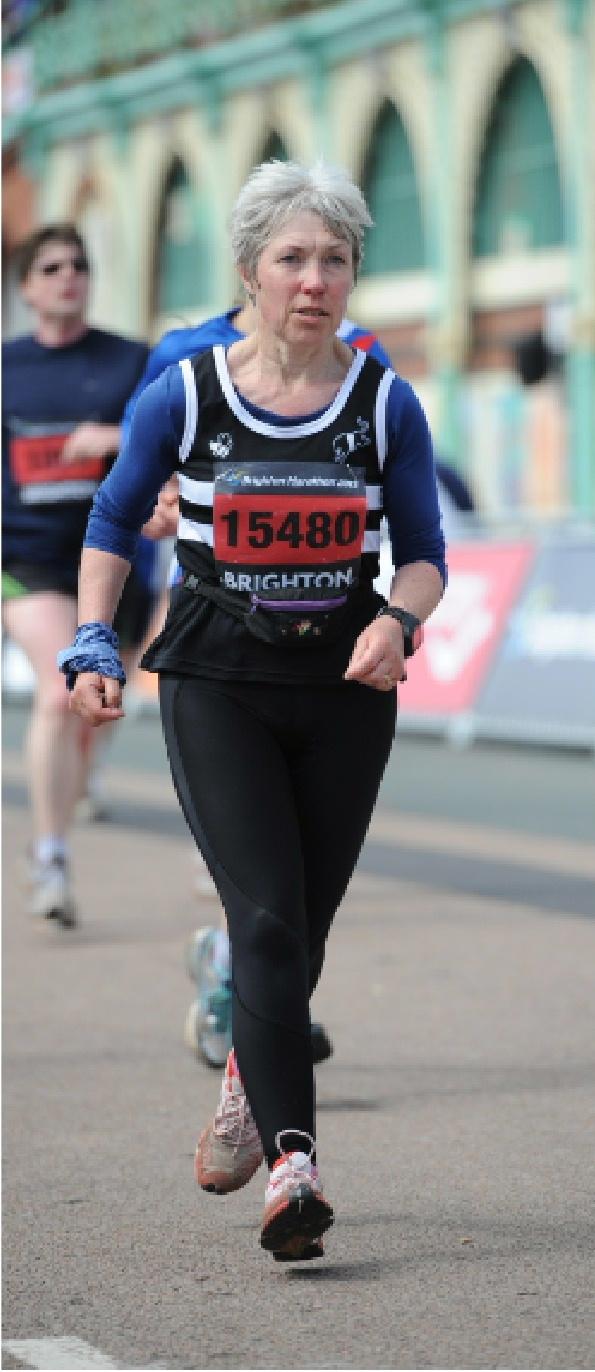 Galloway Harriers at the Brighton Marathon