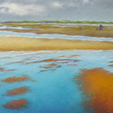 Painting of Holkham Beach, Norfolk