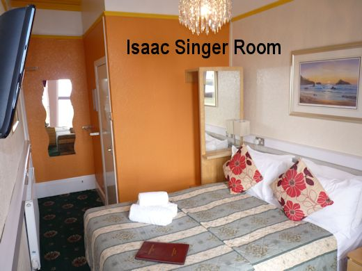 Isaac Singer Bedroom
