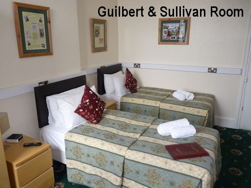 Guilbert and Sullivan Twin Room