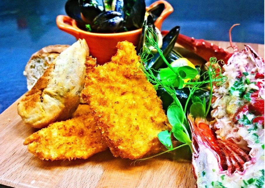 Food at the House O Hill Inn Bargrennan, Newton Stewart