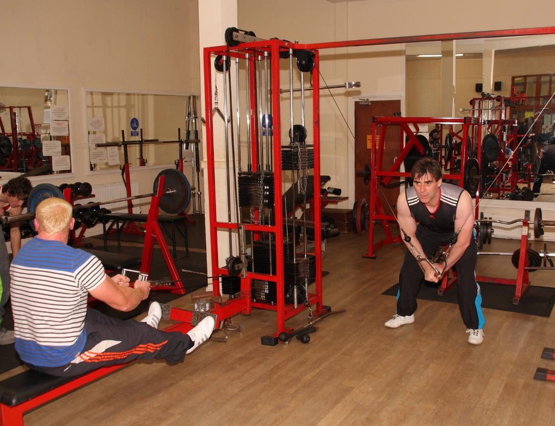 Fitness equipment at AA Fitness Studio Dumfries