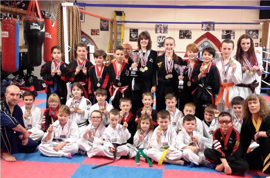 children's martial arts classes Dumfries