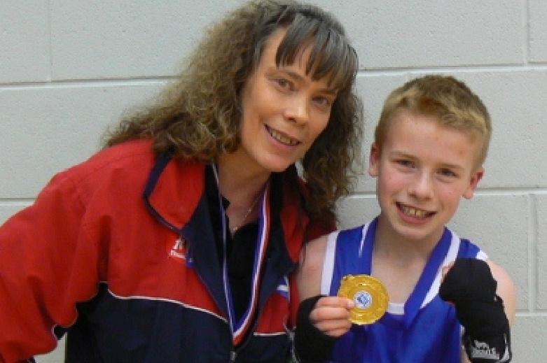 Scottish School Boy and British Champion