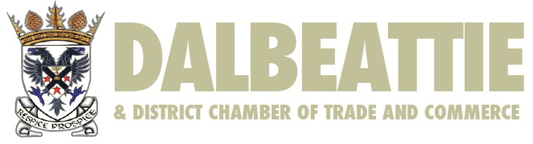 Logo of the Dalbeattie and District Chamber of Trade and Commerce