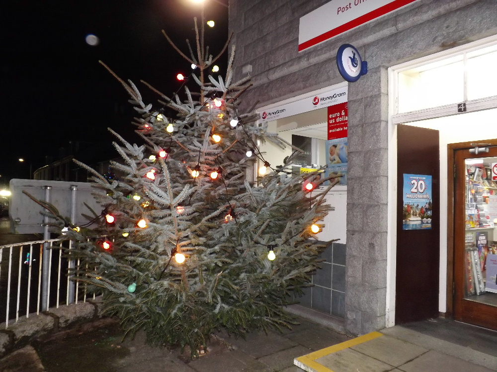 Dalbeattie Christmas lights switch-on