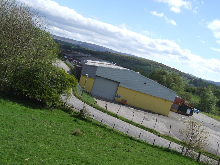 A view of Edingham Industrial Estate