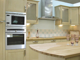 Kitchen installation by JDR Goodman of Dalbeattie