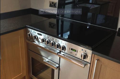 Granite kitchen worktop from Granite Works Ltd of Dumfries