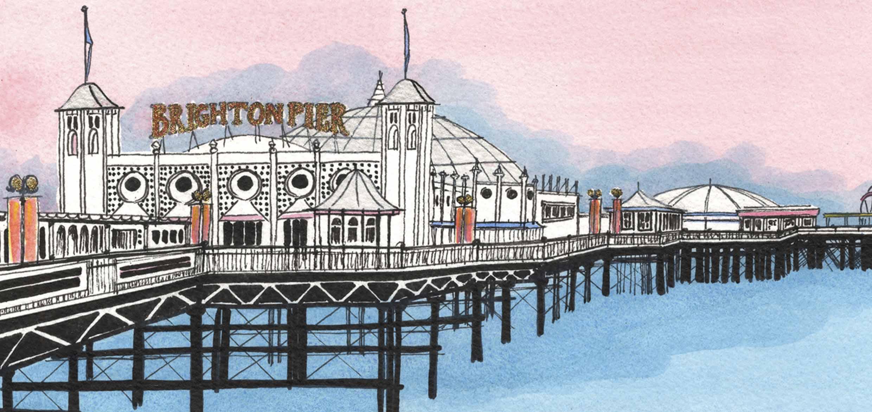 Palace Pier Pink