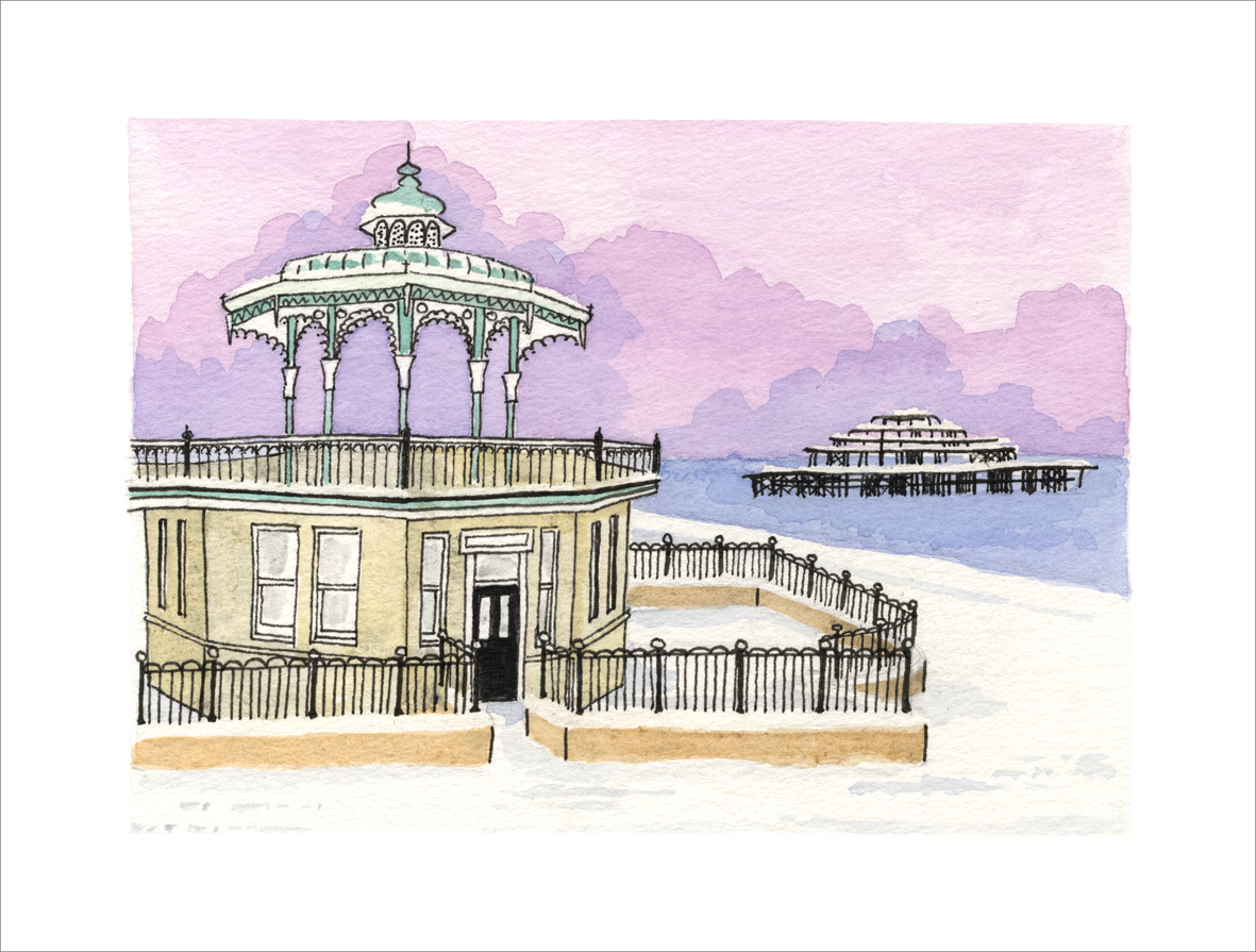 Wintry Bandstand