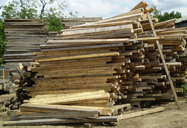 Recovered Waste Timber