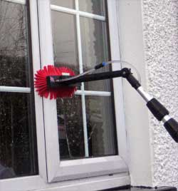 Water fed pole window cleaning in Sevenoaks, Greenhithe, Dartford - TS Cleaning Limited