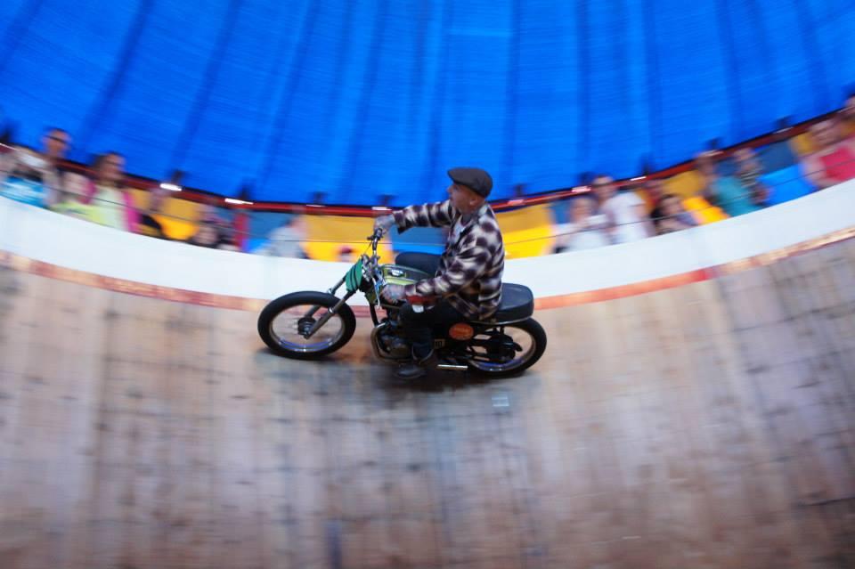 Danny riding