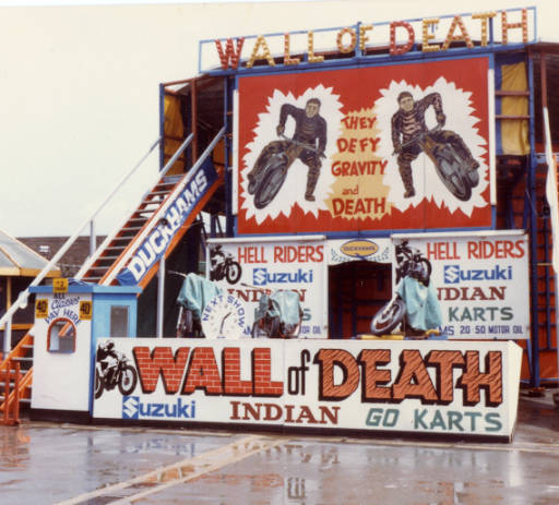 Cripseys Wall of Death 1982