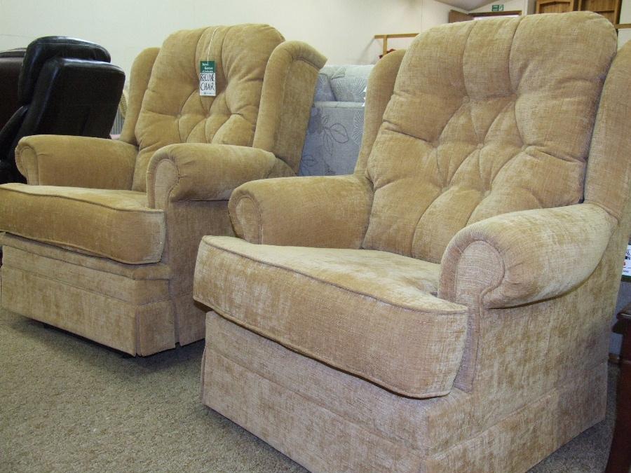 Armchairs from Bryan Gowans Dalbeattie