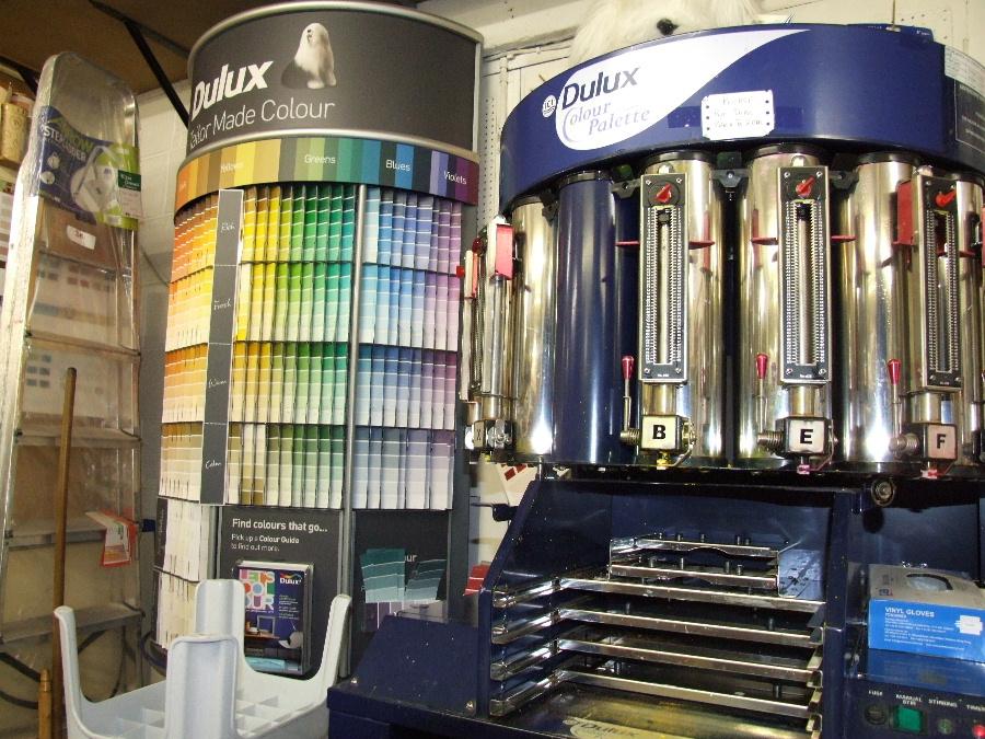 Dulux Colour Centre at Bryan Gowans Dalbeattie