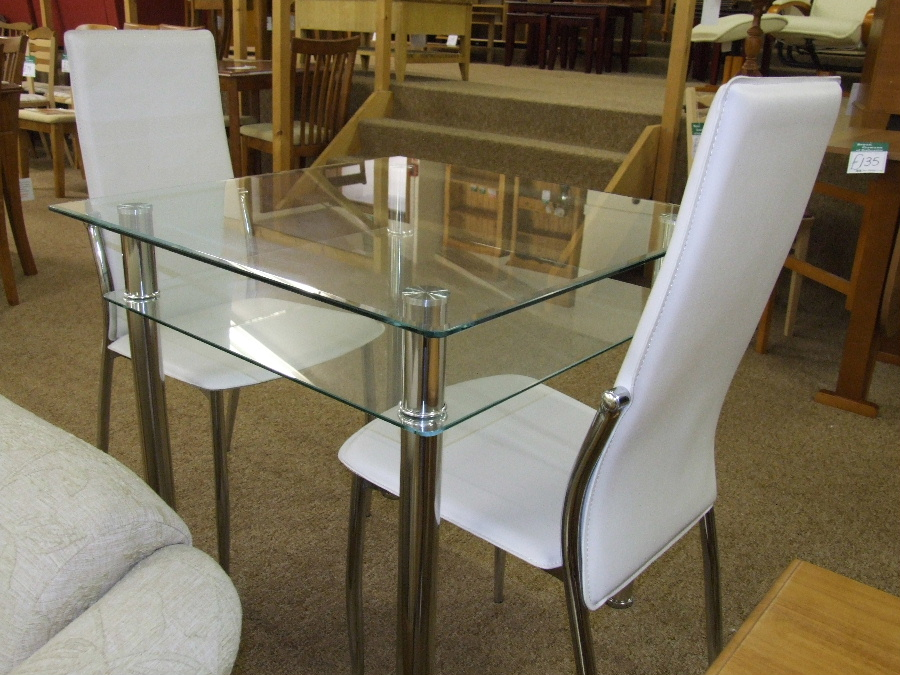 Dining room tables and chairs from Bryan Gowans Dalbeattie