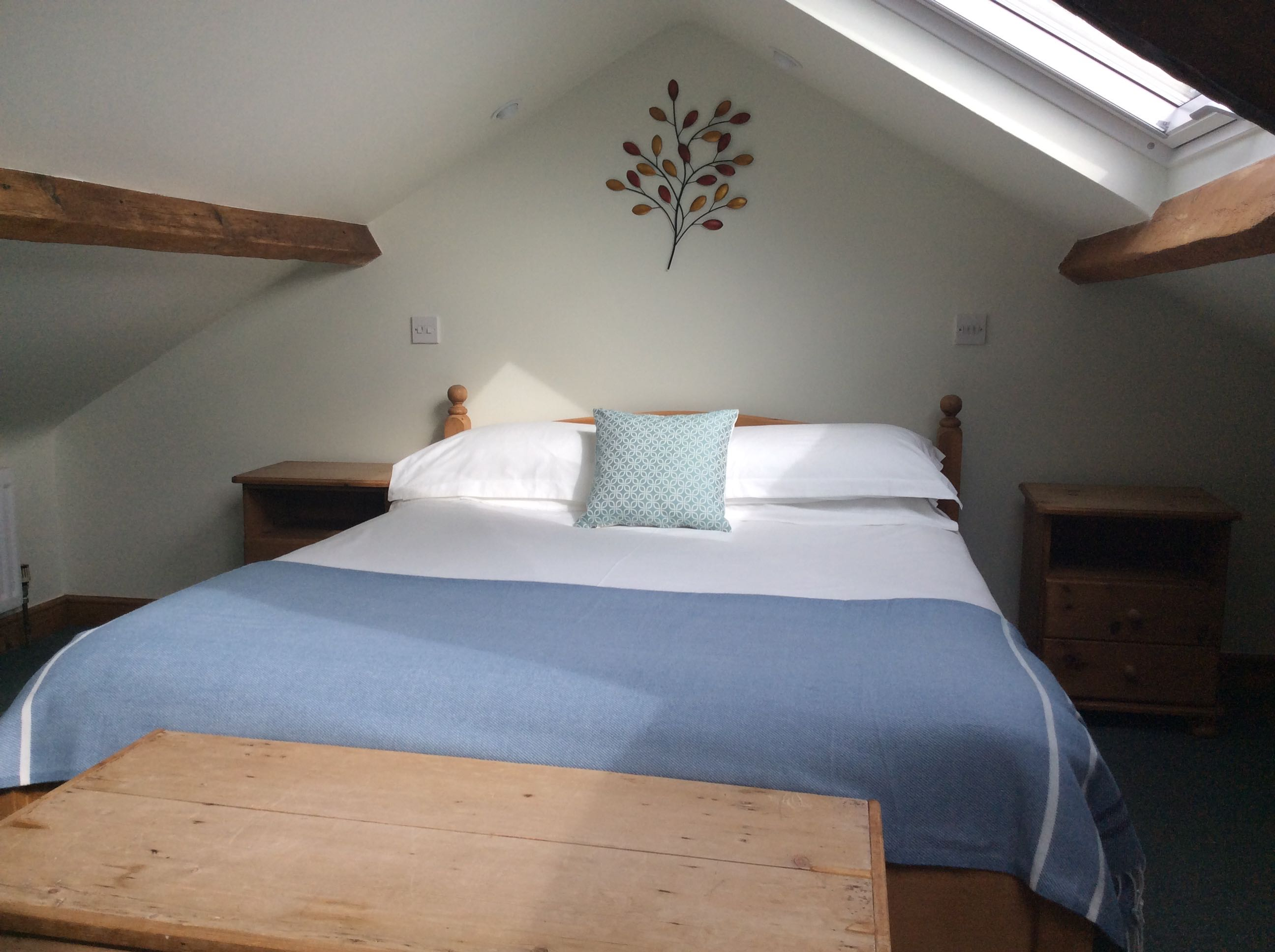 En-suite bedroom, in attic,