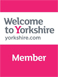 Welcome to Yorkshire sign.