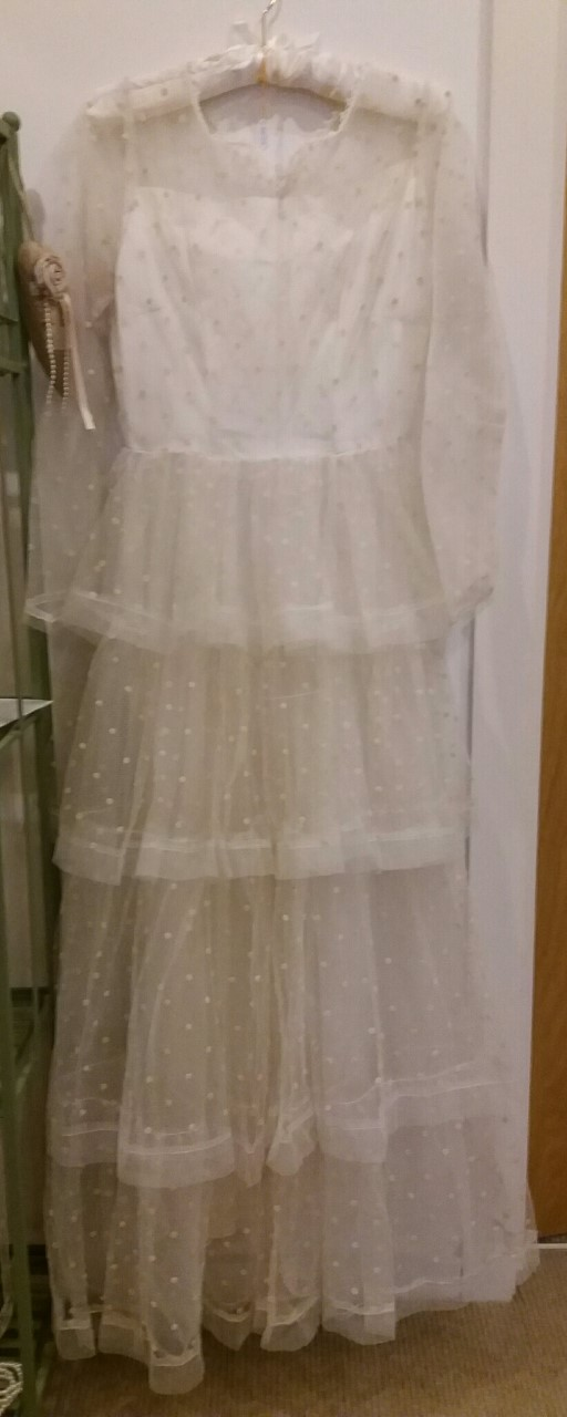 vintage wedding dress Louisa
