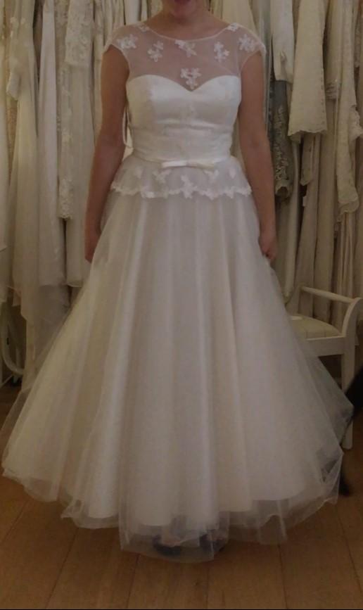 1950s short style wedding dresses