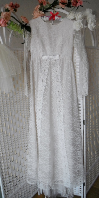 Emmaleine is an original vintage wedding dress for sale at our bridal shop in Brighton