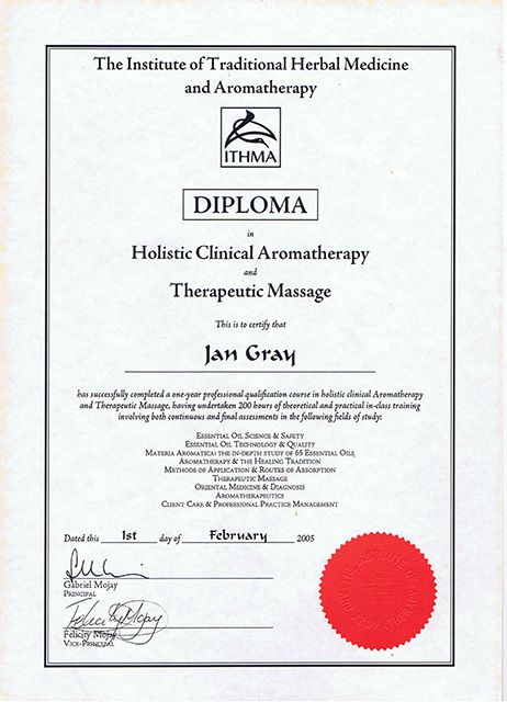 Manual Lymph Drainage Diploma from the Dr Vodder School