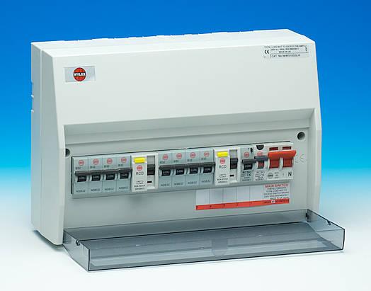 Wylex Dual Unit RCD fuse board upgrade