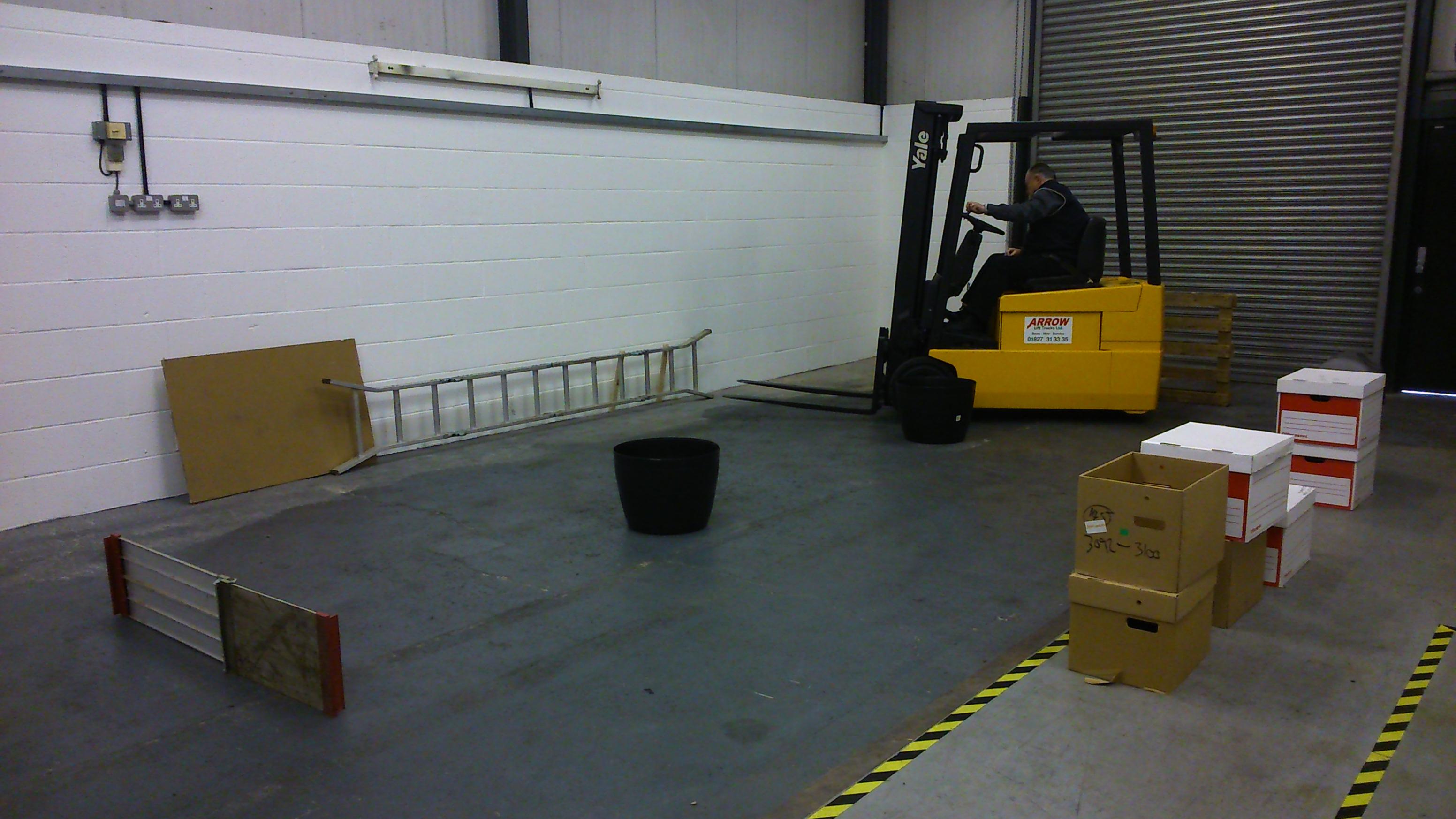 forklift truck flt operator training courses