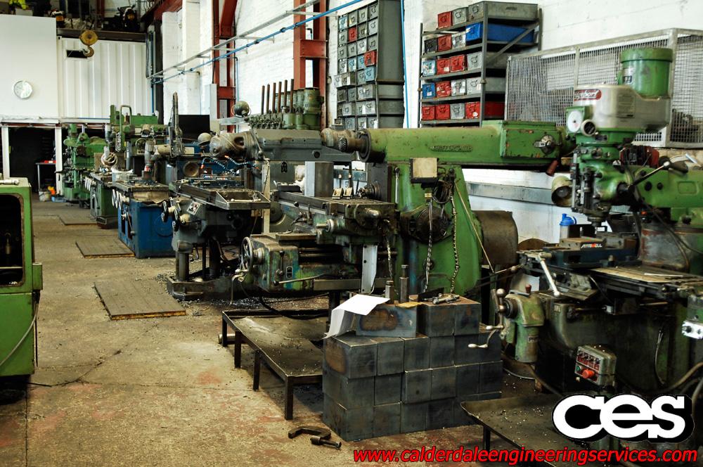 Huron Sachman Graffenstaden Milling Machine