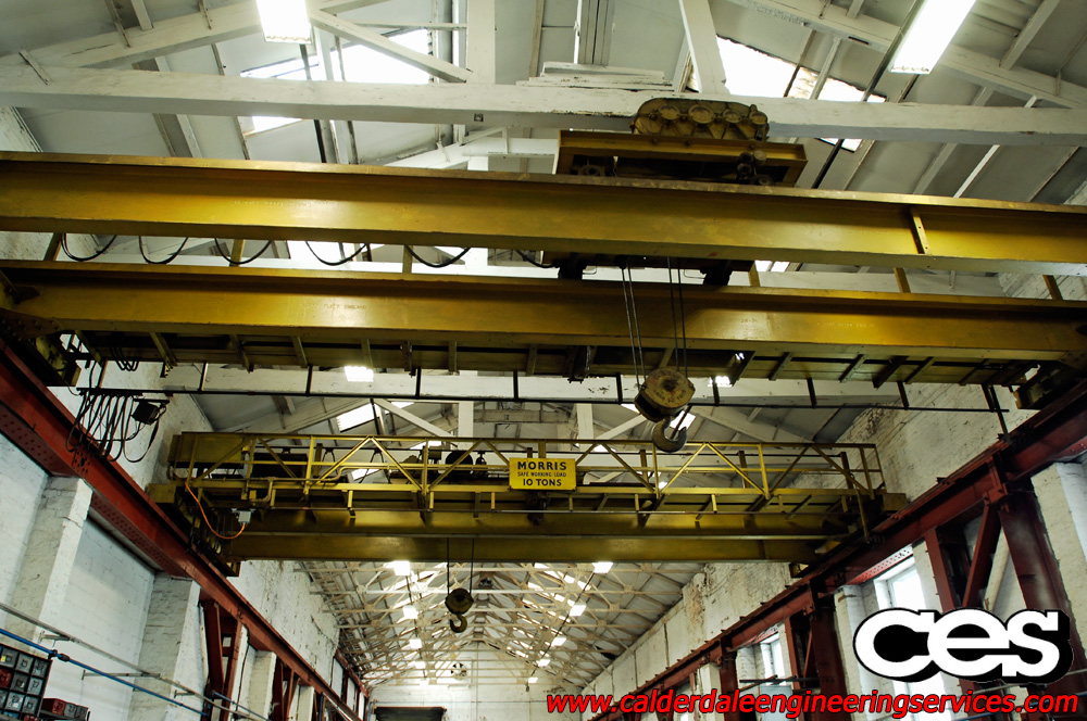 Calderdale Engineering Services Halifax 20t Overhead Cranes