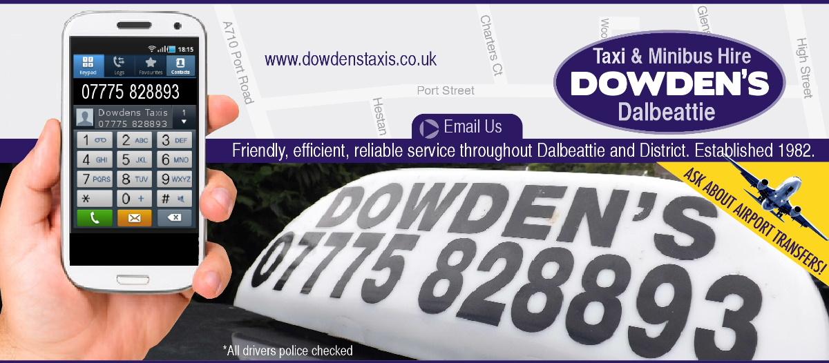 Taxi firms Dalbeattie