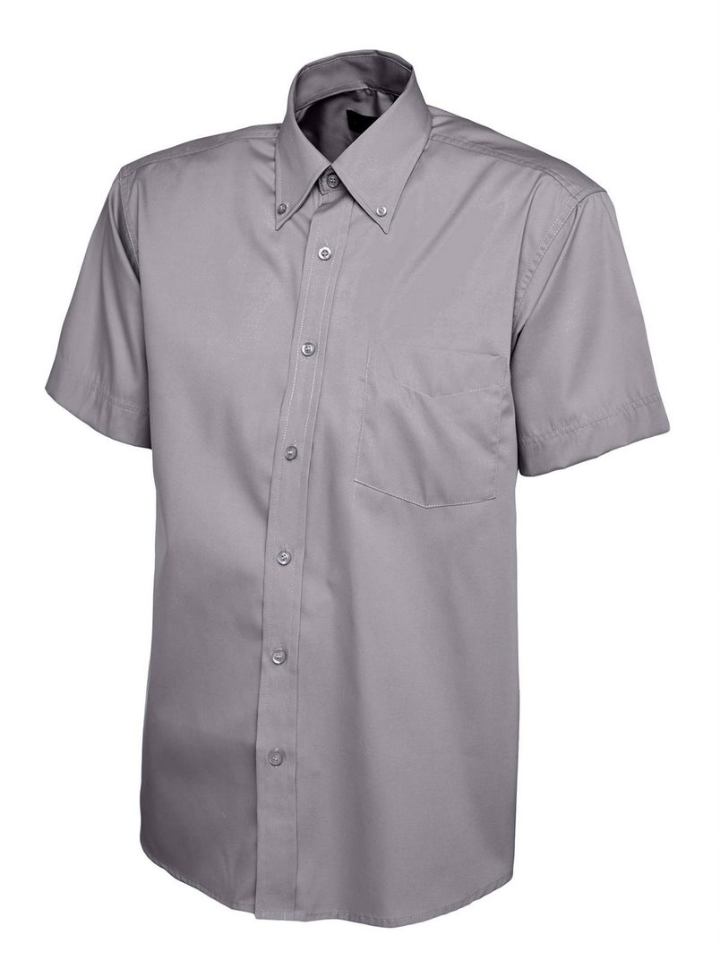 UNEEK UC702 SHORT SLEEVE OXFORD SHIRT