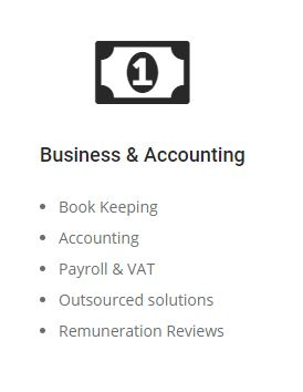 services - business accounting