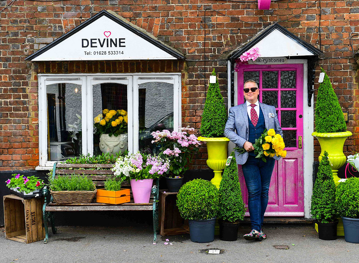 Website photography of Devine Flowers, Buckinghamshire