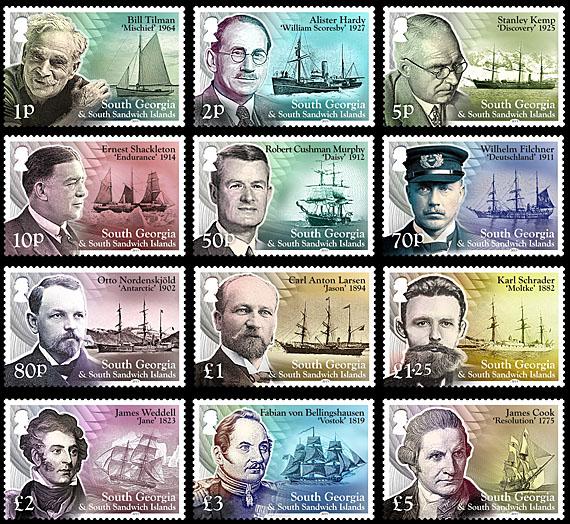 South Georgia Ships Scientists  Explorersjpg