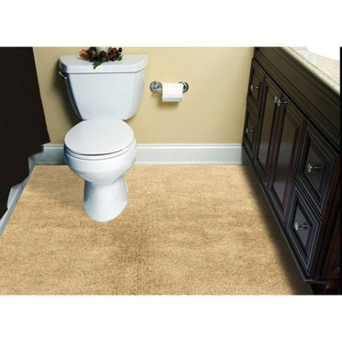 Carpet Cleaning Bathroom